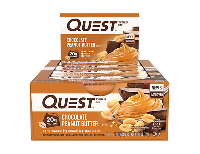 Quest Nutrition Protein Bar | 2.5 OZ | Chocolate Peanut Butter!