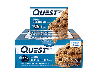 Quest Nutrition Protein Bar | 2.5 OZ | Oatmeal Chocolate Chip!