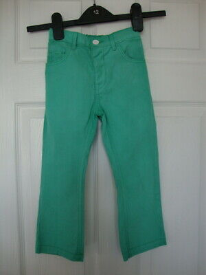 George Girls Green Bootcut Trousers size 2-3 years