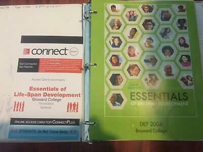 Essentials of Life Span Development Third Edition John Santrock WITH ACCESS CODE