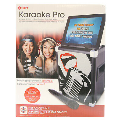 ION Audio IPA46 Karaoke Pro Professional Karaoke System for iPad