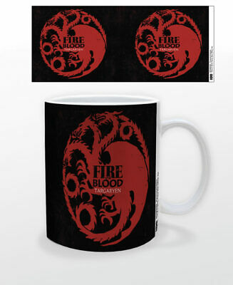 Game Of Thrones Targaryrn Sigil 11 Oz Coffee Mug Tea Cup Hbo Tv Gift New Fun Got