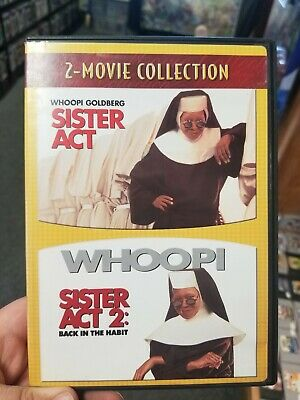 Sister Act/Sister Act 2 (DVD, 2007, 2-Movie Collection) with insert near mint