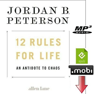 12 Rules for Life An Antidote to Chaos Jordan B Peterson ePub mobi Mp3 Audio CD