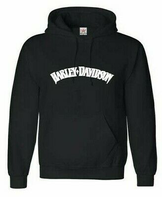 Harley Davidson printed Hoodie . Various sizes and colours, motorbike, chopper,