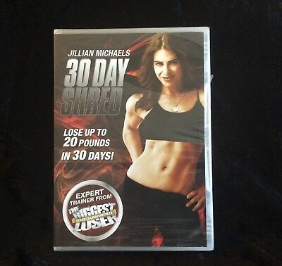 JILLIAN MICHAELS 30 DAY SHRED lose up to 20 pounds in 30 days brand new DVD