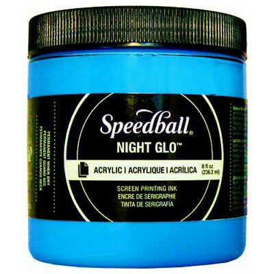 Speedball Art Products 46220 Acrylic Waterbase Screen Printing Ink 8Oz Night ...