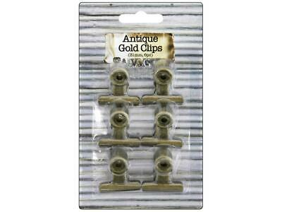 Bci Crafts Bci25153  Bull Clips 31Mm Gold 6Pc