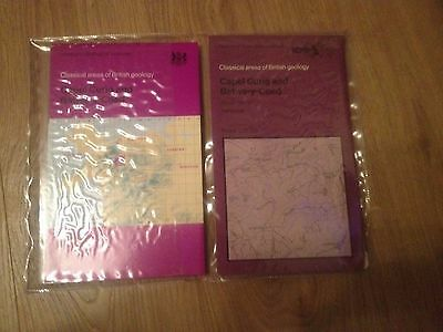 CAPEL CURIG & BETWS-Y-COED Institute of Geological Sciences Map & Book