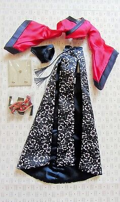 "Outfit Accessories Fashion Royalty Ayumi Rarest Of All 12"" Doll New!!!"
