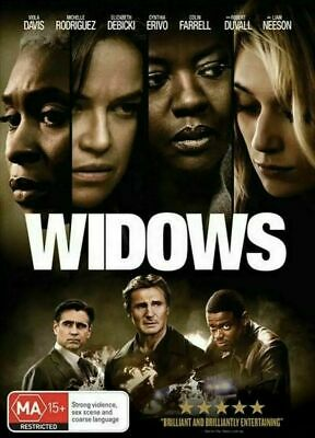 Widows :AS NEW DVD : Australian Stock PAL 2019