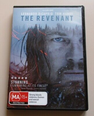 DVD - The Revenant - Leonardo DiCaprio - Tom Hardy
