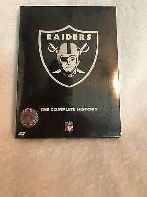 Oakland RAIDERS ~ THE COMPLETE HISTORY ~ 2 DVD Set ~ NEW  Sealed ~ 2004 ~ NFL