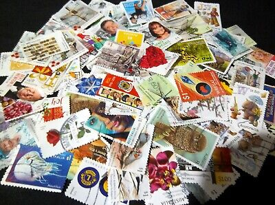 Australian Stamps -100 plus all Different $1.00 2016/2018 Lots of Sets Used/Bulk