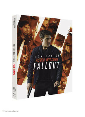 Mission: Impossible - Fallout ( 3Disc : 4K UHD + Blu-ray + Bonus ) STEELBOOK