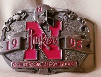 1995 Husker National Championship Belt Buckle #435 of only 5000