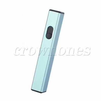 Mini Rechargeable USB Electronic Lighter No Gas Lighter D-812 Blue