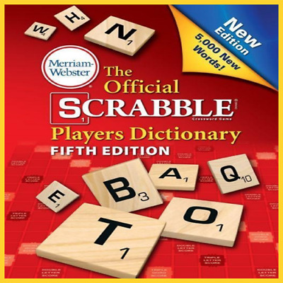 The Official Scrabble Players Dictionary, New  EB0O.K