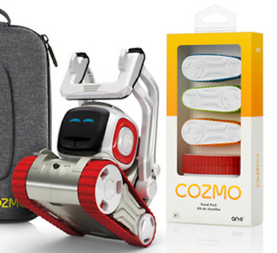Anki Cozmo Robot Treads Set of 4 Colours Official Game Accessory NEW