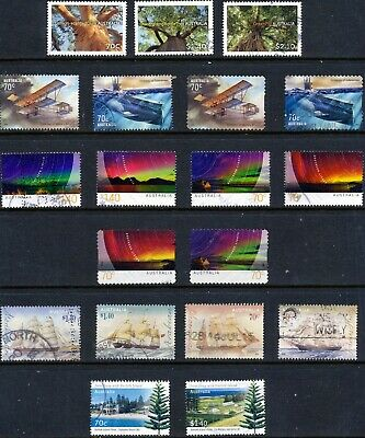 Australian Stamps 70c with High Values - Sets - Used/Bulk