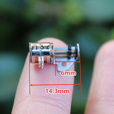 DC 3v-5v 2-phase 4-wire Micro Mini Stepper Motor linear screw Lead slider block