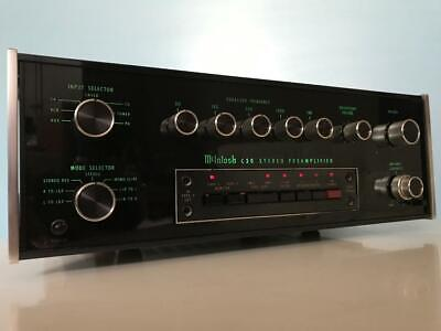 Vintage Mcintosh C30 Preamplifier In Clean/Good Working Condition