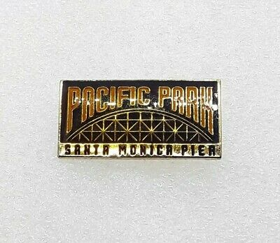 Pacific Park Lapel Hat Pin - Santa Monica Pier California