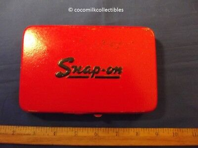 1960's Vintage Snap Tools Metal Case Kenosha Wis Sockets Wenches Nice Repaint