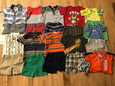 Baby Boy Clothes 12-18 Months Spring/Summer Clothes Outfit Lot 22 pieces.