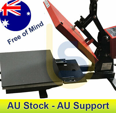 Pull-Out Base High Pressure Heat Press for T-Shirt & Sublimation Transfer 38x38