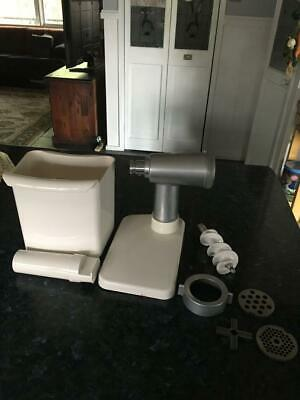 Vintage Kenwood Chef 900 Series Mincer Attachment & Extras - Hard To Find