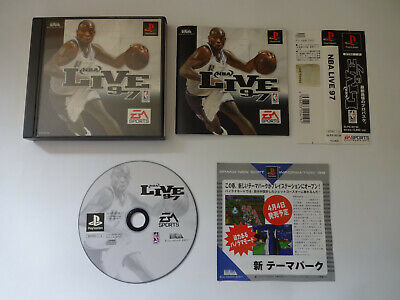"SONY PlayStation 1 Game Software ""NBA LIVE 97"" PS1 w/Obi NTSC-J Japan Import"