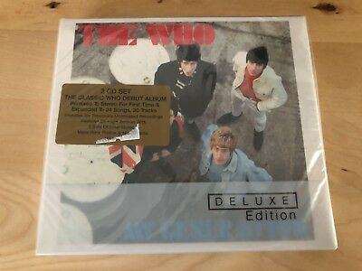 THE WHO - MY GENERATION: Deluxe Edition 2 CD Album - NEW / Sealed