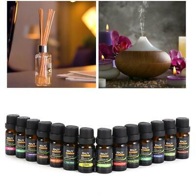 100% Pure Natural Essential Oils Set of 14 Plant Aromatherapy Kit 10ml Gift Box