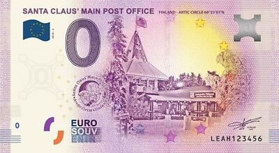 Billet Touristique 0 Euro - Santa Claus Main Post Office - 2018-2