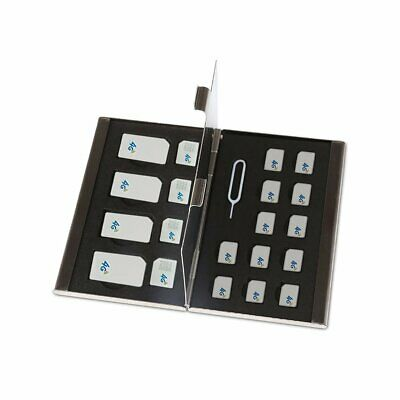 Stainless Steel Single-Layer Double-Layer Sd Card Sim Card Box S801 L1