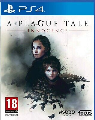A Plague Tale: Innocence Chinese/English subtitle PS4 BRAND NEW