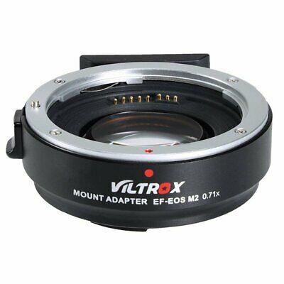 VILTROX EF-EOS M2 Adapter Ring AF 0.71x Speed Booster For Canon EF Lens to EOS-M
