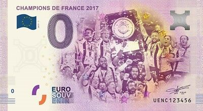 Billet Touristique 0 Euro --- Clermont - Champions de France 2017 - 2017-1
