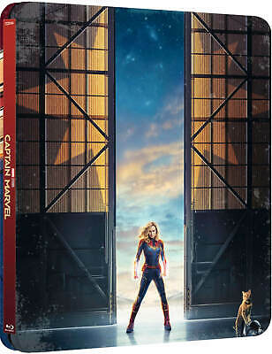 Captain Marvel (3D + 2D Blu-ray Steelbook) BRAND NEW PRE-ORDER  06/26!!!