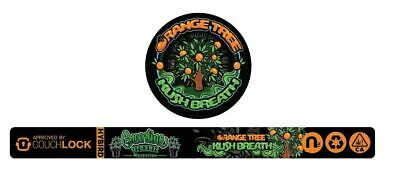 Greenline Orange Tree Kush Breath Cali TIn Label