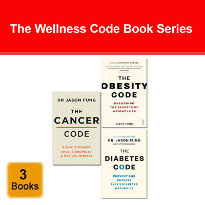 Jason Fung 2 books collection set pack Obesity Code, Diabetes Code NEW