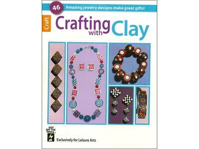 Leisure Arts Lea6191  Crafting With Clay Bk