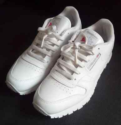 8ddcbbdb89f89 Reebok Basket Cuir Classic Leather Femme Blanche Taille 37