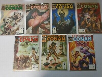 Savage Sword of Conan (1989-93) Lot 25 issues #168-212 7.0 FN