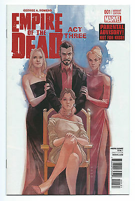 George A Romero's Empire Of The Dead Act Three 1 NM 1:15 Phil Noto Variant