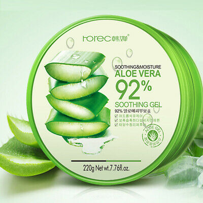 Beauty New Moisture Cream Soothing 92% Care Gel 300ml Sensitive Skin Face Aloe