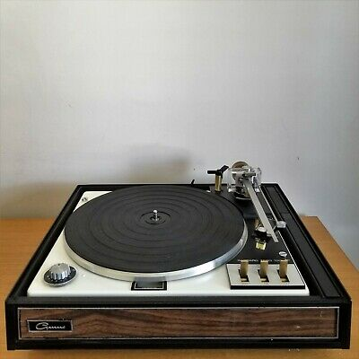 GARRARD ZERO 92 TURNTABLE Working But For Parts No Cover - $175 00