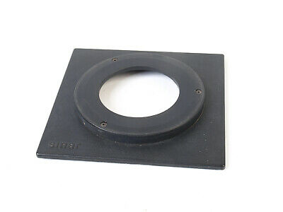 Sinar Copal 3 Lens Board with 9mm(?) raised top hat lens panel (for 5x4)