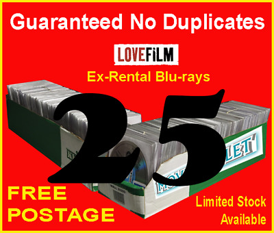 2​5 x LOVEFILM Ex-Rental Blu-Ray Movies, OVERSTOCK, JOBLOT, WHOLESALE, CLEARANCE